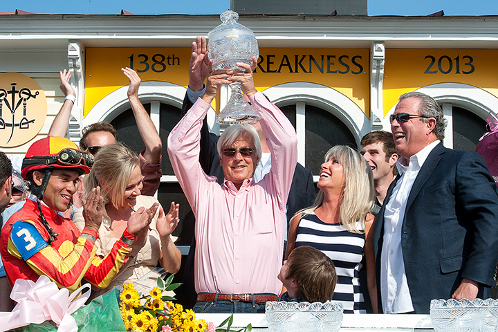Bob Baffert has hoisted many trophies in his time