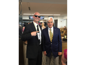 16. Bob Baffert is the best at winning the big ones no doubt. Four time Kentucky Derby winner and more huge victories than a hillbilly can count makes him a hall of famer.