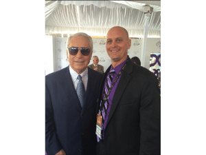 21. Hall of Famer D. Wayne Lukas was all smiles after Take Charge Brandi won the Breeders Cup Juvenile Fillies at 60 to 1