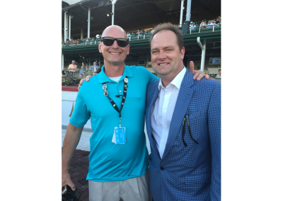 14. Trainer Doug O'Neill has won the Kentucky Derby twice (2012,2016) and is a guy I am proud to call my friend!