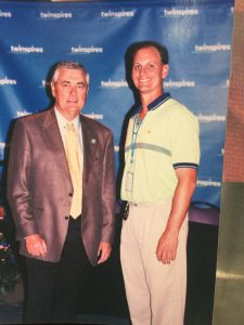 18 Carl Nafzger won the Kentucky Derby twice (1990, 2007) and more importantly…he knew me when I had hair!!!