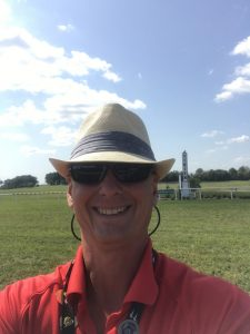 7 A selfie at the finish line at Kentucky Downs is especially cool because this is an outstanding place to enjoy the sport of Thoroughbred racing.