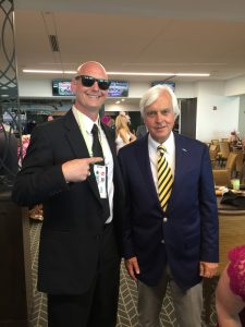 16 Bob Baffert is the best at winning the big ones no doubt. Four time Kentucky Derby winner and more huge victories than a hillbilly can count makes him a hall of famer.