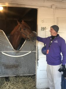 1 Hanging with top Thoroughbreds like The Player, a Buff Bradley trained Kentucky bred always makes me feel like a winner!