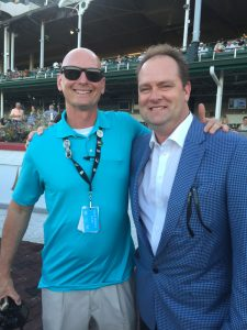 14 Trainer Doug O'Neill has won the Kentucky Derby twice (2012,2016) and is a guy I am proud to call my friend!
