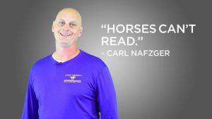 Horses Can't Read